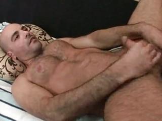 bald bear had his bottom rammed