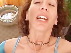 horny milf cheats on her lover for the first