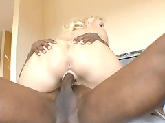 ebony cock into daddys daughter. part1