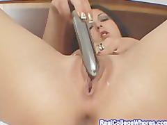 vibrator shoving inside my rough butt cavity