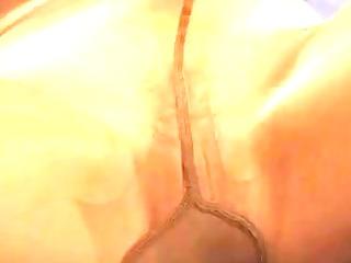 pantyhosed sex-toy joy