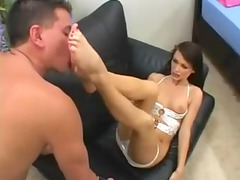 julia presley footjob