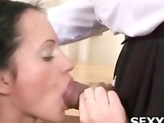 neat lady acquires nailed doggystyle