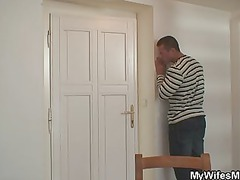 pushing dildo mother in law obtains busted and