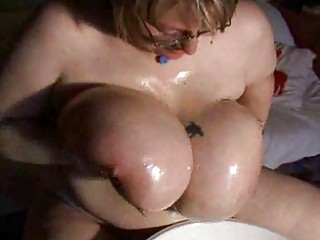your private oiled huge bossom performance