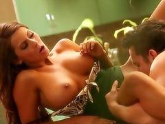 bigtits celebrity madison ivy kitchen sex
