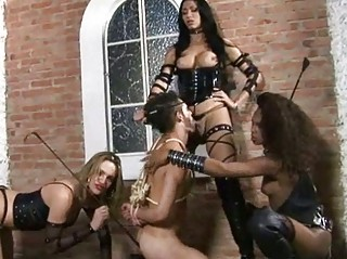 shemales dominate their slave