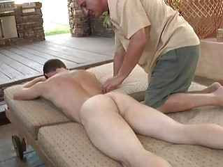 bleached muscled gay takes dick sucking and