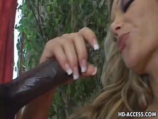 hawt breasty floozy amanda nova interracial fuck