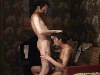 gay daddy goes naked and obtains his knob sucked