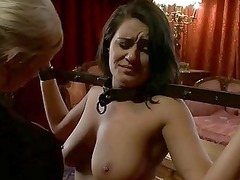 super sexy chick dominated and fucked