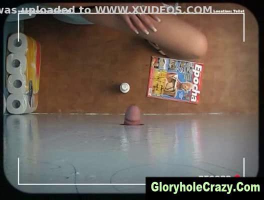 gloryhole pale gives gloryhole toilet fellatio