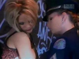 lesbians on police car hood