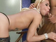 immaculate tranny meets a libido