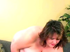 chubby whore pleasing with big toys...