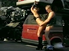 leather-clad mother id enjoy to pierce is bound