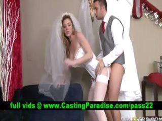 kayla paige stunning bride gangbanged realy
