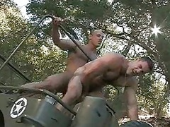 horny military guys having gay fuck