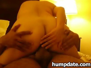 maiden rides her bbc while hubby filming