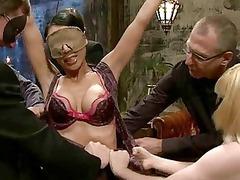 hot babe manhandled and ass