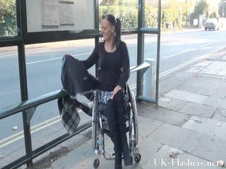 paraprincess public nudity and handicapped adult