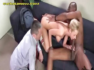 cuckold made to watch interracial