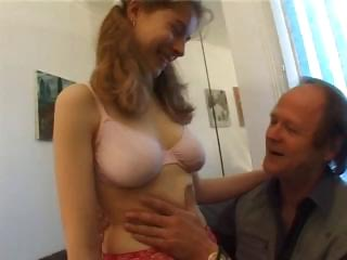 stunning french amateur banged