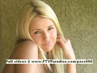 sophia senzual blond lady walking masturbating