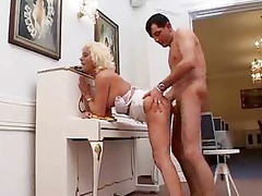 horny milf likes deep ass sex