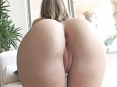 brigitte naughty bleached angel flashing anal and