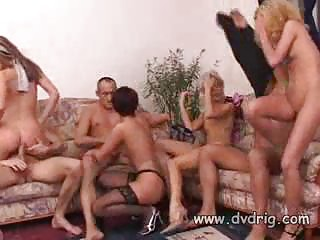 seven or more duos drill around inside a horny