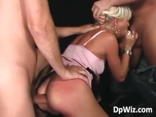 blond amp acquires twin banged difficult part4