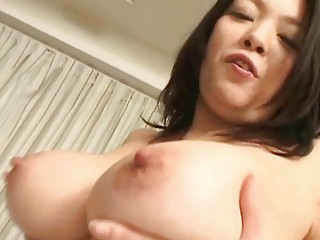 horny japanese angel plays