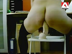 tvs crossdresser nylons and dildo rambone
