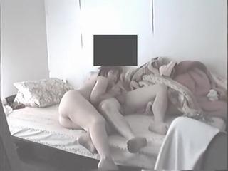 hidden sex cougar woman blowing dad on spy secret