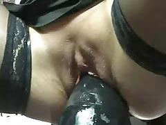 gigantic plastic cock fucking fresh woman