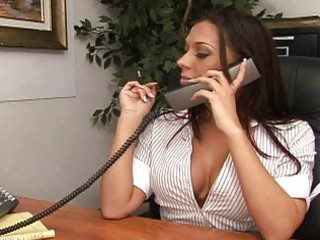 my hot butt boss irma called me into her agency