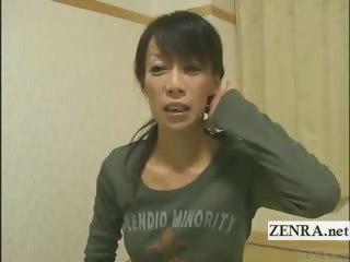 subtitled older  woman japanese bodybuilder going