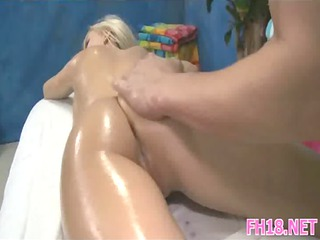 awesome 18 moment granny girl acquires drilled