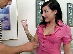 heavy rod inside her rough bitch