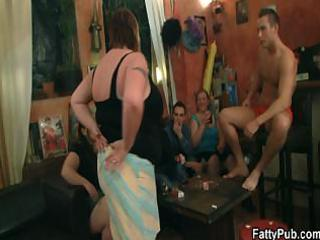 bbw bitches are striping and sucking