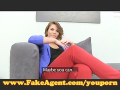 fakeagent posh young tries arse in casting