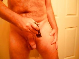 shave then closeup tour of dick