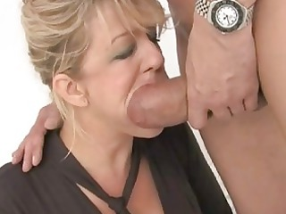 sweet looking horny lady had double drilled