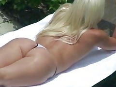fresh blonde chick double penetrated