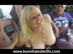 grown-up gilf amp gets pissed on