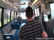 Men get picked up by a bus and get fucks gay porno
